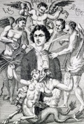 Marquis de Sade: Man or monster?  Illustration: Portrait fantaisiste du marquis de Sade (1866) by H. Biberstein