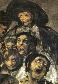 A Pilgrimage to San Isidro (1819–23) by Francisco Goya