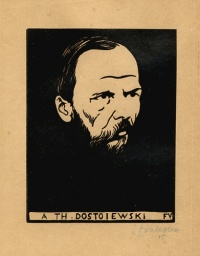 Fyodor Dostoyevsky (1821 – 1881)  Illustration: A Th. Dostoiewski (1895) by Félix Vallotton