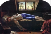 The Death of Chatterton (1856) by Henry Wallis