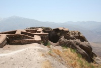 Alamut, vestiges of an impregnable castle