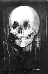 All is Vanity (1892) by Charles Allan Gilbert