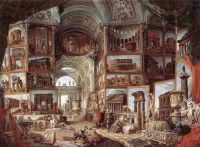 Ancient Rome (1757) by Giovanni Paolo Panini