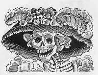 Calavera de la Catrina (before 1913) by Posada
