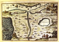 The map is not the territory is a concept.   Illustration: The Map of Tendre (Carte du Tendre)