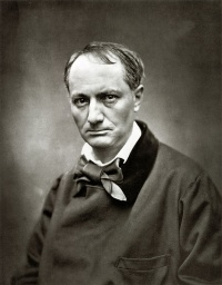"""What is the good of criticism?""  Charles Baudelaire (portrait by Etienne Carjat, ca. 1863)"