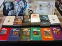 Bookshop display of a collection Julio Cortázar books