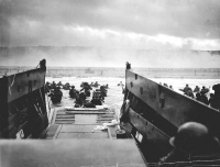 D-Day (1944)   # June 6, 1944, the date during World War II when the Allies invaded western Europe.   # The date of any major event planned for the future.
