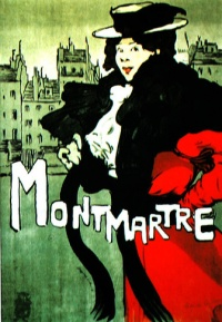 Montmartre 1896, poster by  Maxime Dethomas