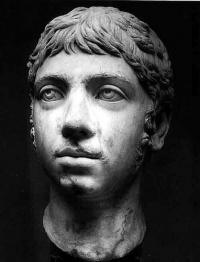 "This page Mad emperors of Rome is part of psychopathology series. Illustration: the head of Elagabalus, one of the five ""mad emperors"" of ancient Rome"