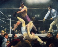 Dempsey and Firpo (1924) by George Bellows