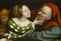 Ill-Matched Lovers (c. 1520/1525) by Quentin Matsys