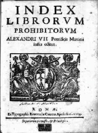 "The Index Librorum Prohibitorum (""List of Prohibited Books"") is a list of publications which the Catholic Church censored for being a danger to itself and the faith of its members. The various editions also contain the rules of the Church relating to the reading, selling and censorship of books. The aim of the list was to prevent the reading of immoral books or works containing theological errors and to prevent the corruption of the faithful."