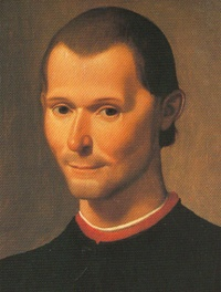 Niccolò Machiavelli (Detail of 1500 portrait of Niccolò Machiavelli by Santi di Tito)