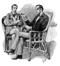Sherlock Holmes is a fictional detective of the late 19th and early 20th centuries, who first appeared in publication in 1887. He is the creation of Scottish author and physician Sir Arthur Conan Doyle.