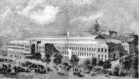 Palais de l'Industrie at the Exposition Universelle  (1855)