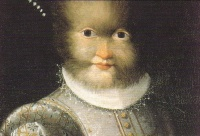 Portrait of Antonietta Gonsalus (ca.1594-1595) by Lavinia Fontana