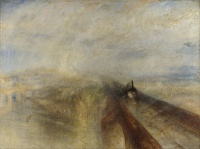 Rain, Steam and Speed - The Great Western Railway (1844) by William Turner, Impressionism avant la lettre