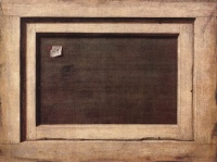 Reverse Side Of a Painting (1670) by Cornelis Norbertus Gysbrechts