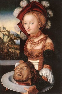 Salome (c. 1530) by Lucas Cranach the Elder
