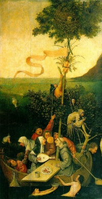 Ship of Fools  by  Hieronymus Bosch
