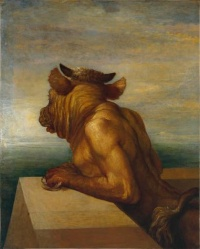 The Minotaur (1885) by George Frederic Watts