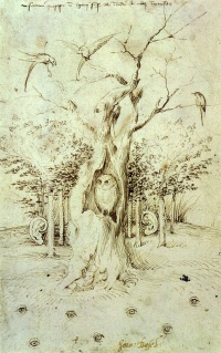 The Trees have Ears and the Field has Eyes by Hieronymus Bosch
