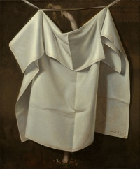 Venus Rising from the Sea — A Deception (c. 1822) by American painter Raphaelle Peale.